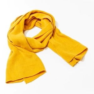 Forever 21 Mustard Blanket Scarf - NWT